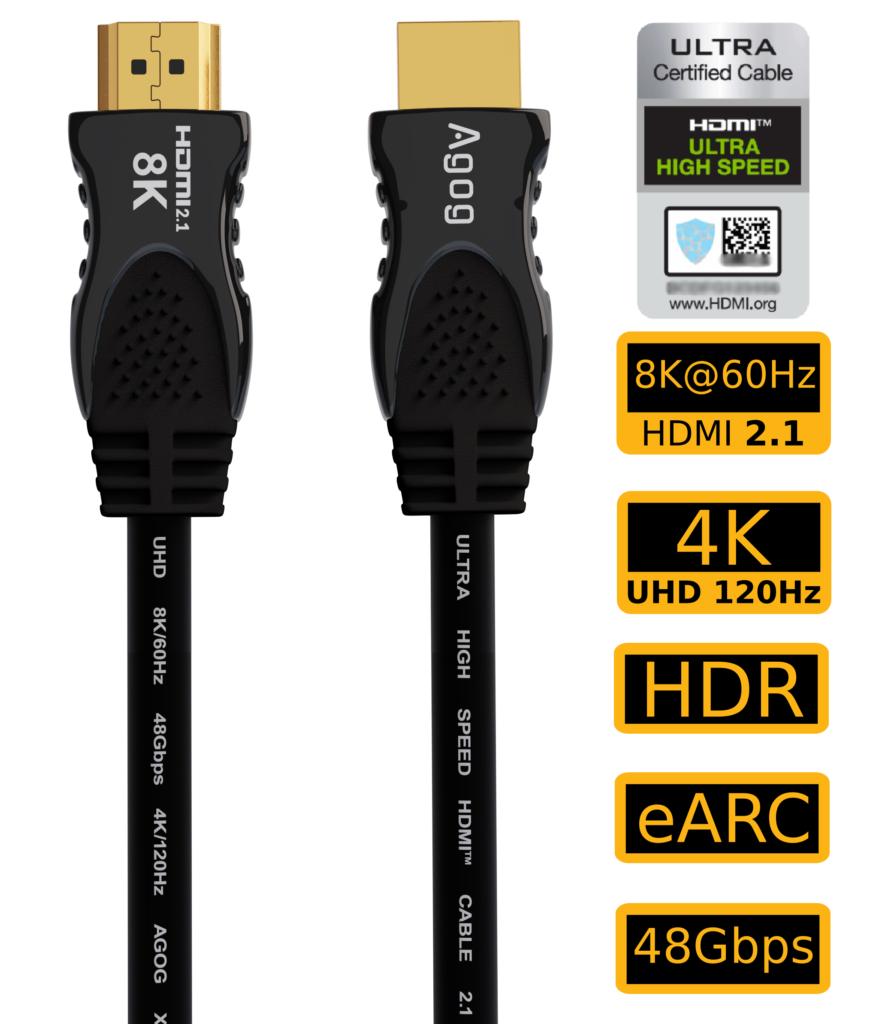 Kabel hdmi 2.1